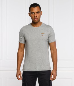 T-shirt Aeronautica Militare w stylu casual z krótkim rękawem