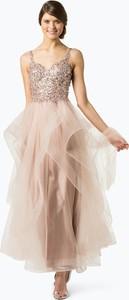 Różowa sukienka Unique rozkloszowana