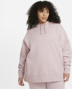 Bluza Nike krótka w sportowym stylu z bawełny