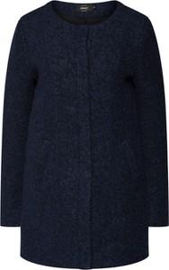 Granatowy płaszcz Only w stylu casual