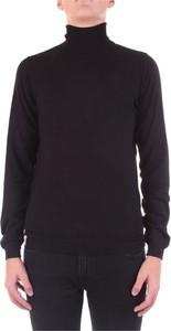 Czarny sweter Fred Mello w stylu casual