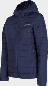 Niebieska kurtka Everhill w stylu casual