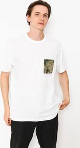 T-shirt Element z bawełny w stylu casual