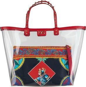 Torebka Dolce & Gabbana w wakacyjnym stylu ze skóry