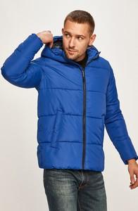 Niebieska kurtka Jack & Jones z tkaniny