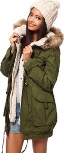 Zielony płaszcz Yaze