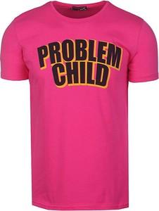 Różowy t-shirt Neidio