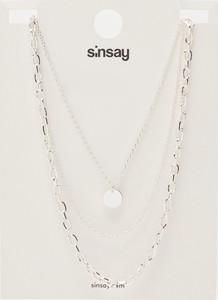 Sinsay - Naszyjniki 3 pack - Srebrny