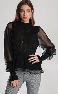 Czarna bluzka Renee w stylu casual