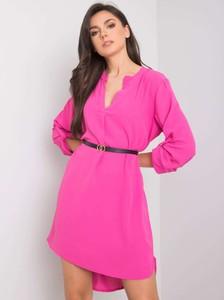Sukienka Sheandher.pl mini w stylu casual z dekoltem w kształcie litery v