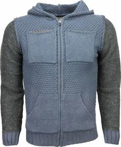 Bluza ENOS z wełny w stylu casual