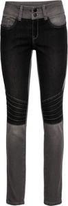 Czarne jeansy bonprix RAINBOW w street stylu
