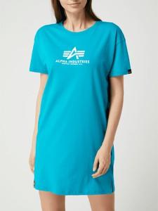 Sukienka Alpha Industries z bawełny mini w stylu casual