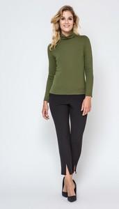 Zielony sweter Ennywear z dzianiny w stylu casual