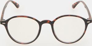Sinsay - Okulary - Brązowy