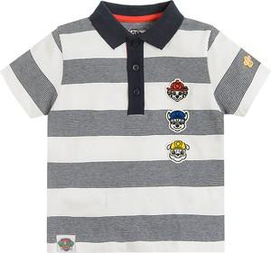 Koszulka dziecięca Cool Club z krótkim rękawem w paseczki