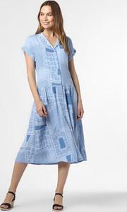 Niebieska sukienka Esprit prosta w stylu casual