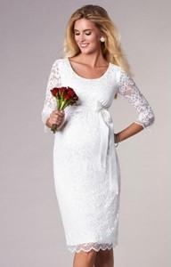 6a428bdb ciążowe sukienki ślubne - stylowo i modnie z Allani