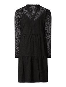 Czarna sukienka Jake*s Collection z dekoltem w kształcie litery v