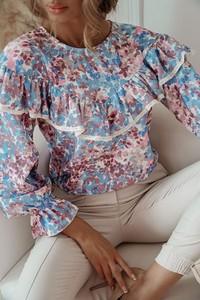 Bluzka Shopaholics Dream z długim rękawem z okrągłym dekoltem