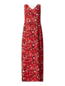 Czerwona sukienka Vero Moda maxi bez rękawów