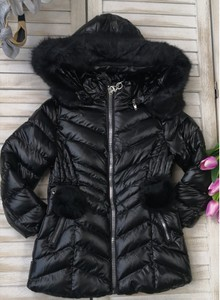 Czarna kurtka dziecięca Petit Boutique - Moda Dziecięca