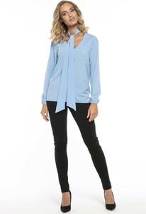 Błękitna bluzka Tessita