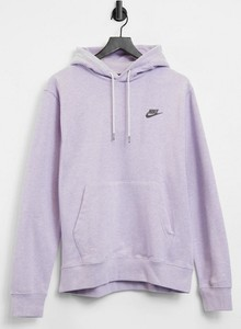 Fioletowa bluza Nike w młodzieżowym stylu