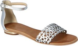 Sandały Lewski shoes z klamrami w stylu casual z płaską podeszwą