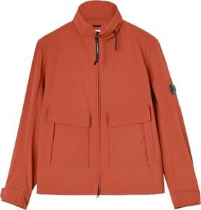 Pomarańczowa kurtka C.P. Company z tkaniny