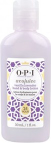 OPI Avojuice Vanilla Lavender - Balsam do rąk i ciała 30ml