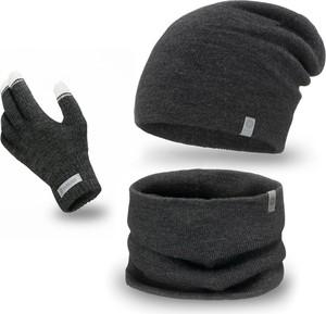 Czarna czapka PaMaMi