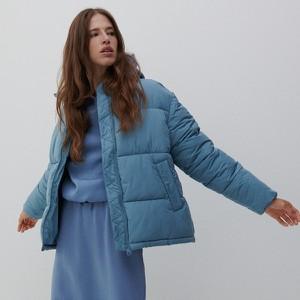 Niebieska kurtka Reserved krótka bez kaptura