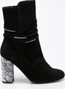 Czarne botki Solo Femme