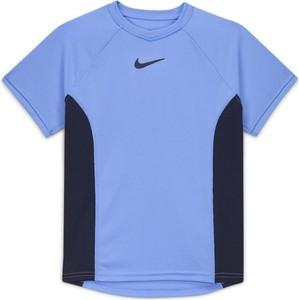 Niebieska koszulka dziecięca Nike dla chłopców