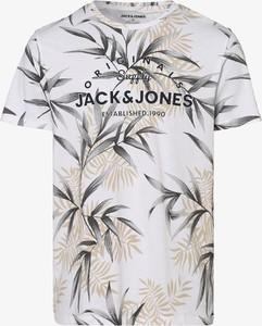 T-shirt Jack & Jones z krótkim rękawem w młodzieżowym stylu z nadrukiem