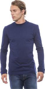 Niebieski sweter Verri w stylu casual