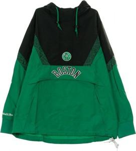 Zielona kurtka Mitchell & Ness krótka