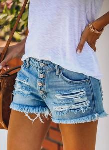 Szorty Cikelly z jeansu