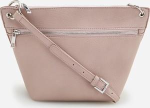 Różowa torebka Reserved matowa w stylu casual średnia