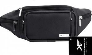 Czarny plecak męski Kochmanski Studio Kreacji® ze skóry