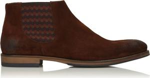 Brązowe buty zimowe Kazar