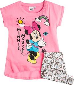 Różowa piżama Odzież Licencyjna z bawełny