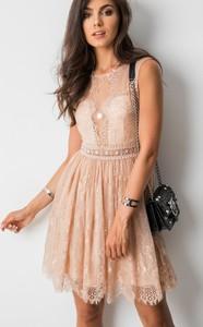 Sukienka Soky I Soka mini bez rękawów