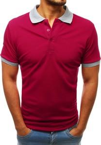 Koszulka polo Dstreet w stylu casual z krótkim rękawem