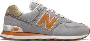 Buty sportowe New Balance sznurowane 574 w sportowym stylu