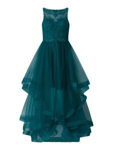 Zielona sukienka Laona bez rękawów