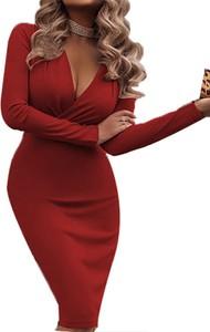 Czerwona sukienka Cikelly