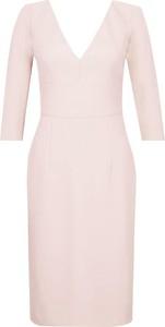 Sukienka Pinko z okrągłym dekoltem midi