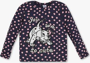 Koszulka dziecięca C&A w groszki z bawełny